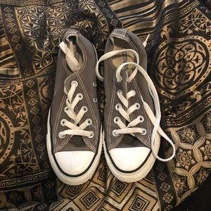 Grey converse